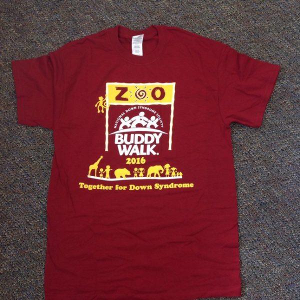 2016 Buddy Walk Tshirt