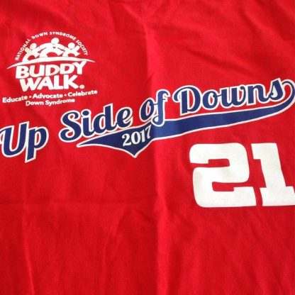 2017 Buddy Walk T-shirt
