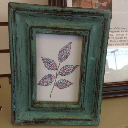 Green Frame Leaf