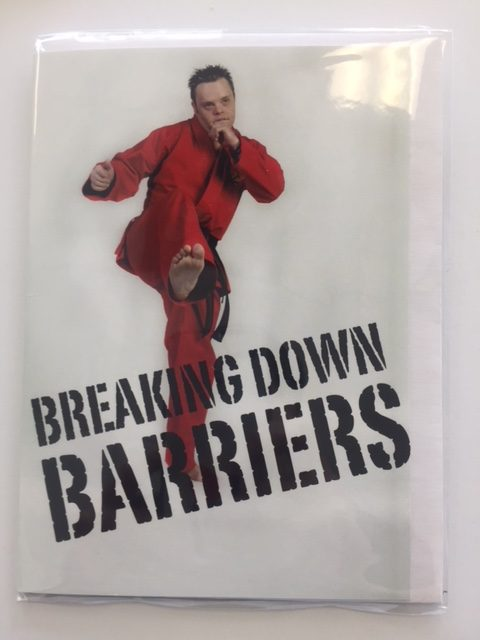 Breaking down barriers poster