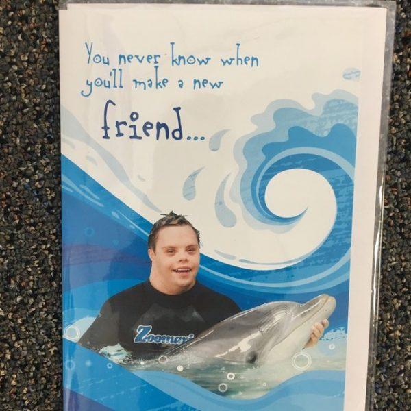 New friend card