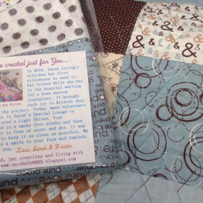 Quilt-Turquoise-Brown