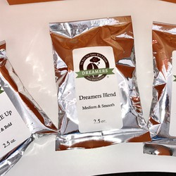 Dreamers Coffee - 2.5 oz. ground coffee