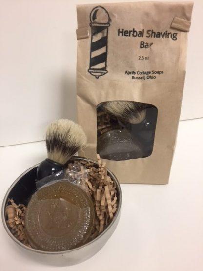 Herbal Shaving Soap Set