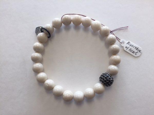 Riverstone bracelet