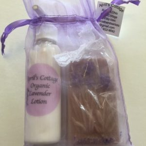 lavender lotion and lavender set